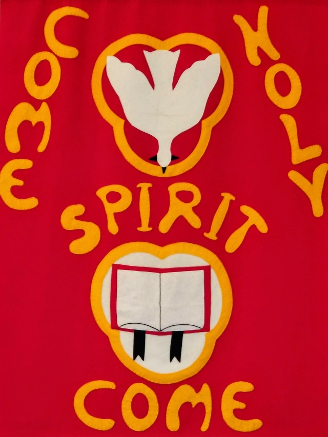 Come Holy Spirit Come Banner